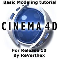 C4D modeling tut by ReVerthex