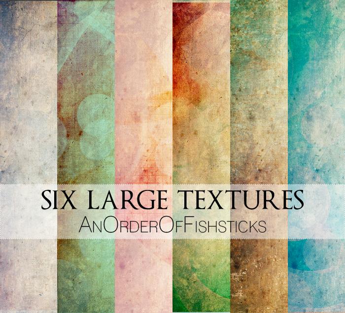 Six Large Textures