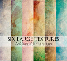 Six Large Textures by AnOrderOfFishsticks