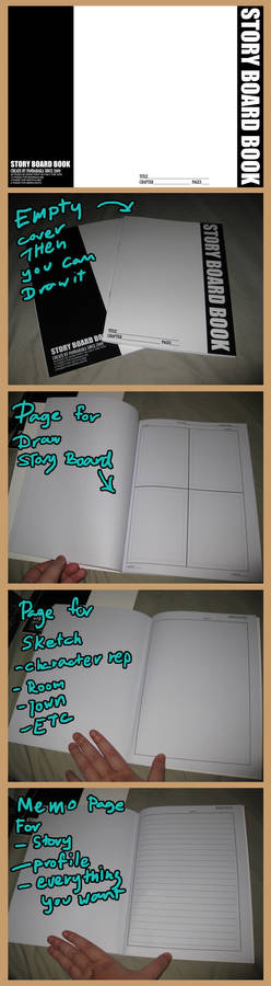 story board book for download