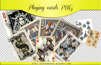 [ 10 ]  FREE PLAYING CARDS PNG PACK