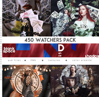 450 FREE WATCHERS PACK by Diaphanerose