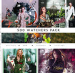 500 FREE WATCHERS PACK