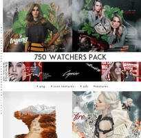 FREE 750 WATCHERS PACK by Diaphanerose
