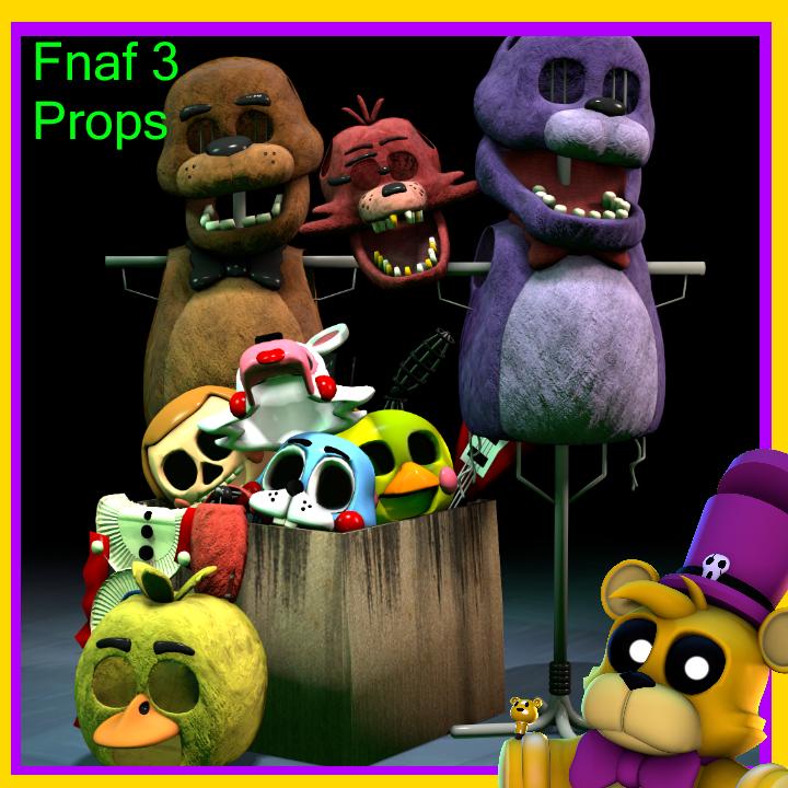 Fnaf 1 Props