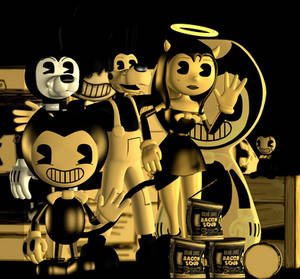 (Blender Internal) Bendy And The Ink Machine Pack