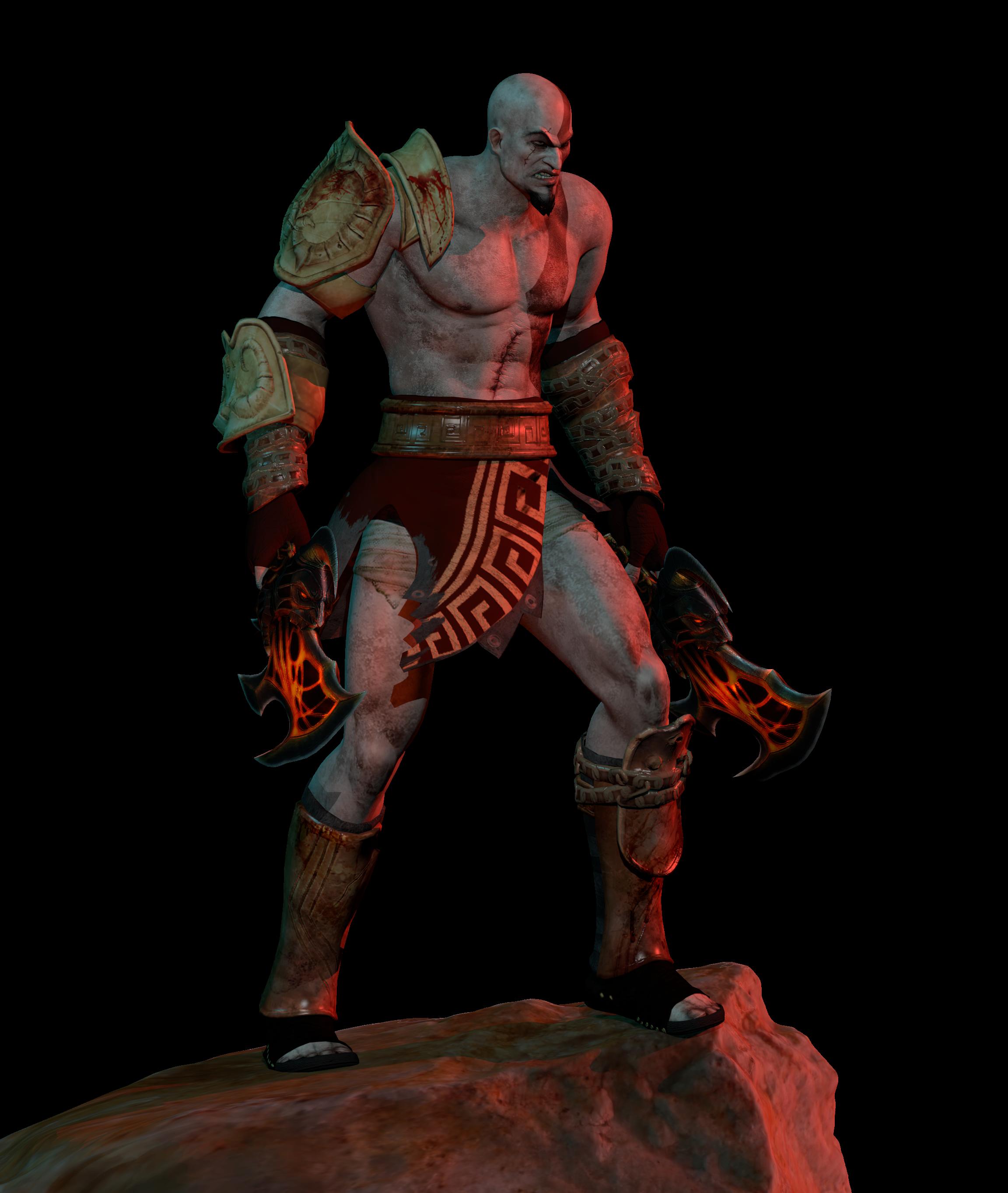 [Blender Download] Kratos God of War 3