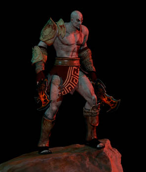 [Blender Download] Kratos God of War 3