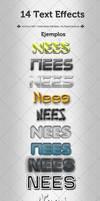 PSD: 14 Text Effects