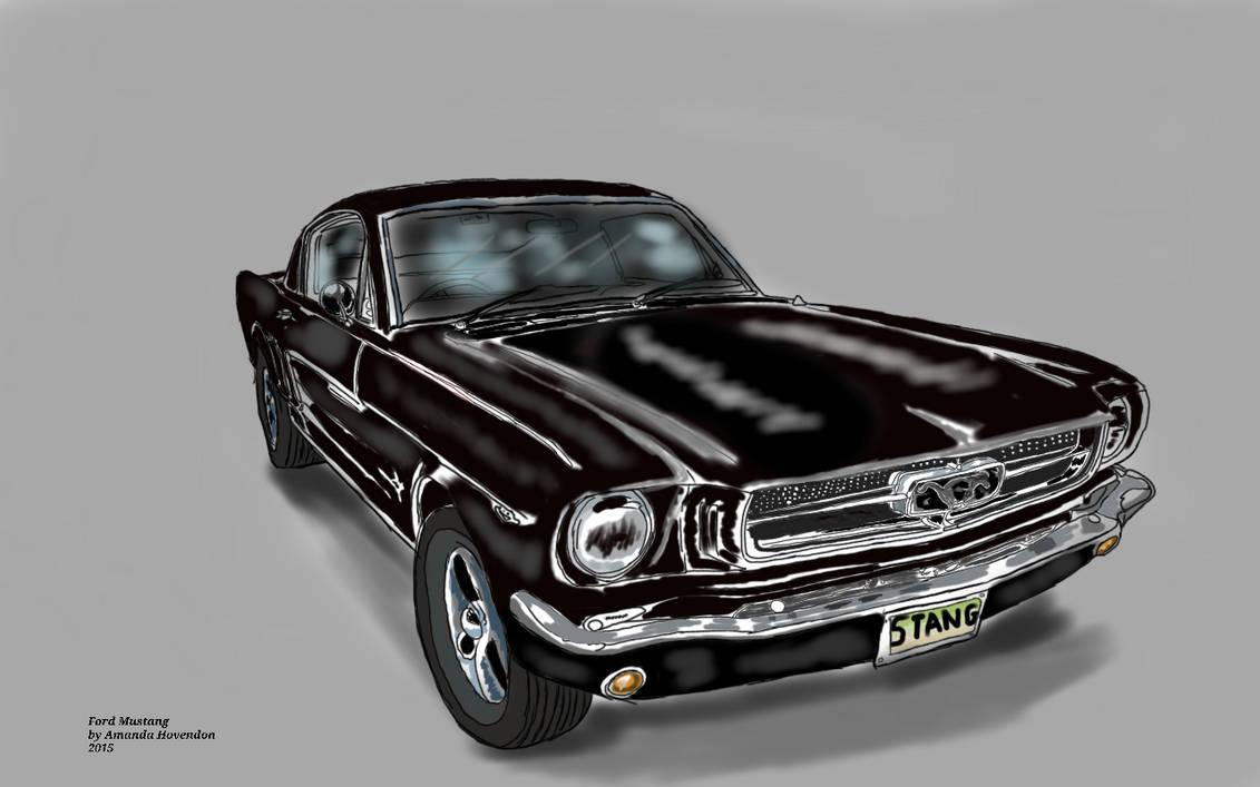 1956 ford mustang by disneynerd23 on deviantart