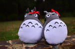 Totoro Cushions: Tutorial by jannettella