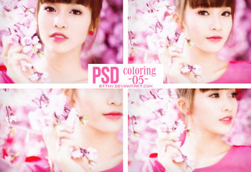 PSD Coloring 05 By Mynie by bttmy