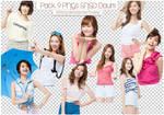 Pack 9 PNGs SNSD Daum By Mynie