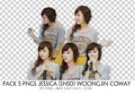 5 PNGs Jessica Woongjin Coway _by Mynie