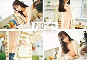 PSD Coloring 12 by Mynie by bttmy