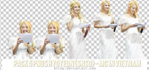 5 PNGs Hyoyeon - MC in Vietnam_by Mynie by bttmy