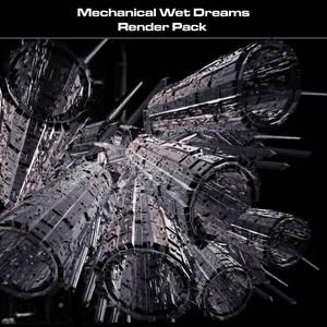 Mechanical Wet Dreams Renders