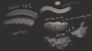 Friis brushes (photoshop)