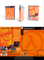 Half-Life PS2 cover redesign