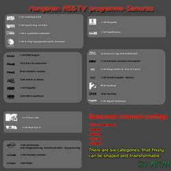 Samurize TV programme
