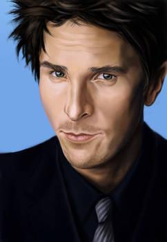 Christian Bale Animation