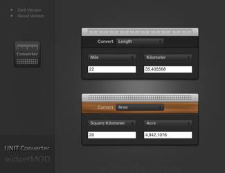 Unit Converter Widget - MOD by artist00