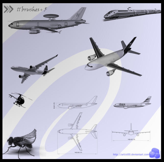 Make your own Jet Contrail: a Photoshop Tutorial by Janee