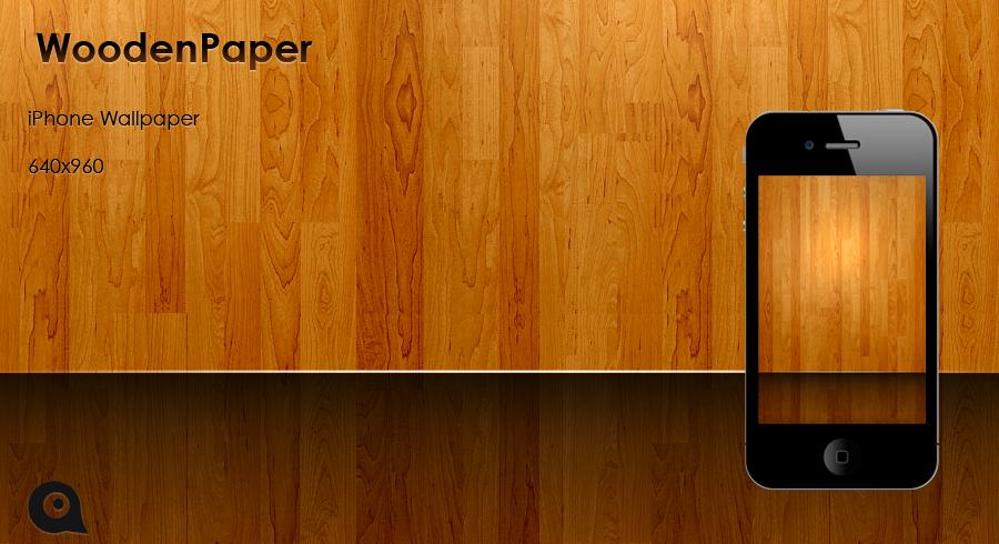 iPhone Wooden Paper HD Wallpaper Pack