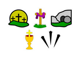 Christian Easter Pack by YeOldeVectorShoppe