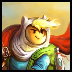 Adventure Time - Finn the Hero - Work in Progress by Ziom05