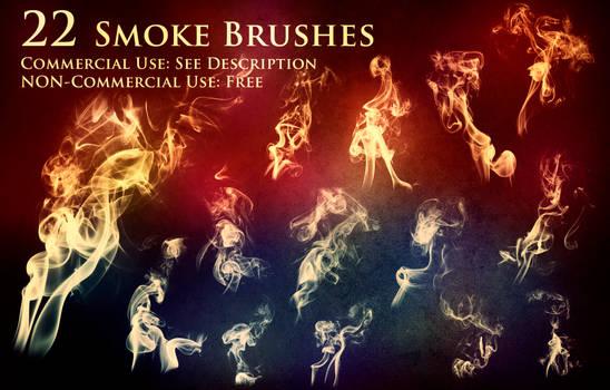 22 Normal Smoke Brushes