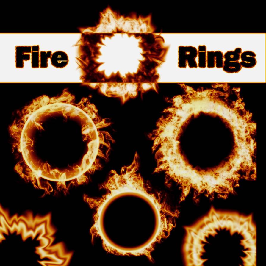 5c262b1ac4ef 6 Fire Ring Brushes by XResch on DeviantArt