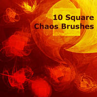 10 Square Chaos Brushes by XResch