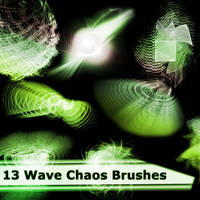 13 Wave Chaos Brushes by XResch