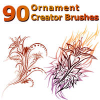 90 Ornament Creator Brushes by XResch