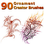 90 Ornament Creator Brushes