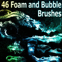 46 Foam and Bubble Brushes by XResch