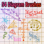54 Diagram Brushes
