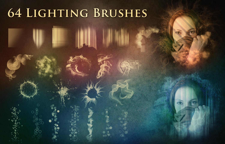 64 Lighting Brushes