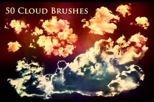 50 Cloud Brushes by XResch