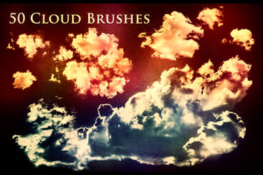 50 Cloud Brushes