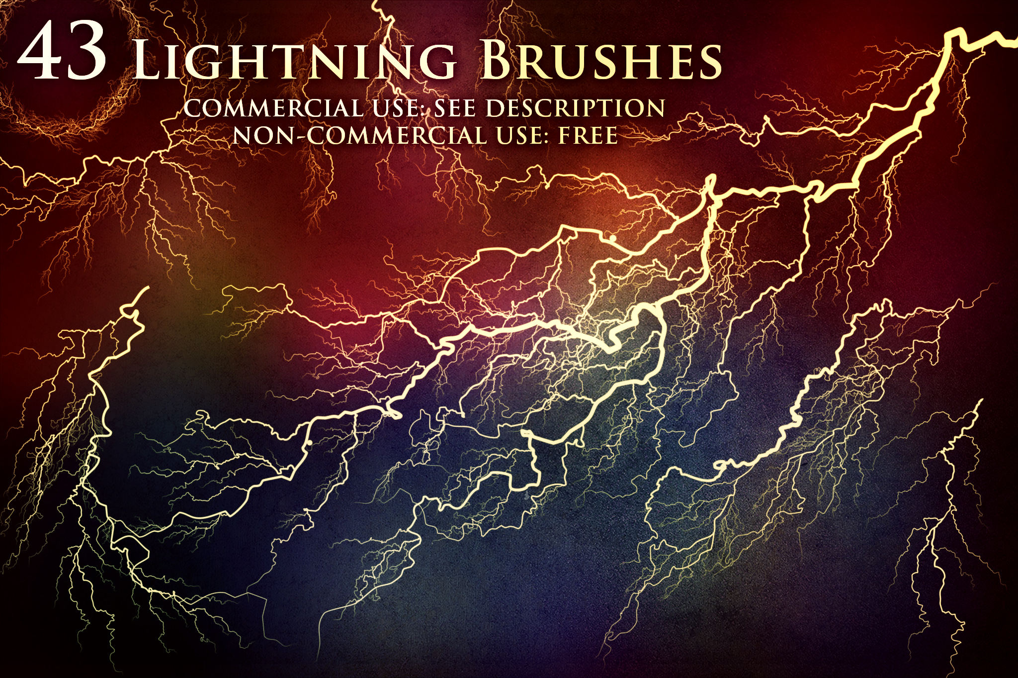 43 Lightning and Electricity Brushes