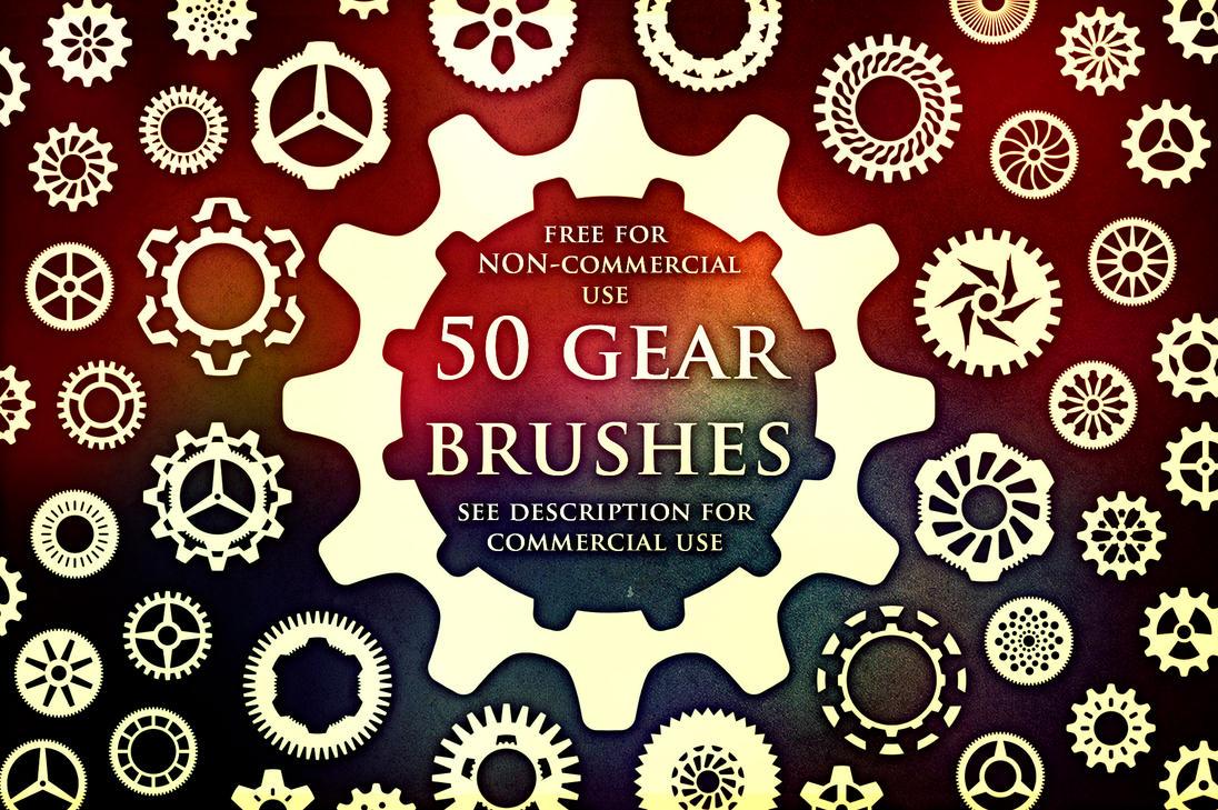 50 Gear Brushes by XResch