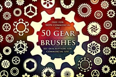 50 Gear Brushes