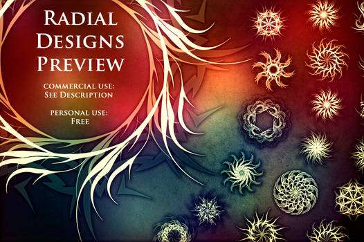 Radial Design Pack (with Preview)