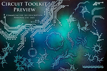 100 Circuit Brushes (Toolkit Preview)