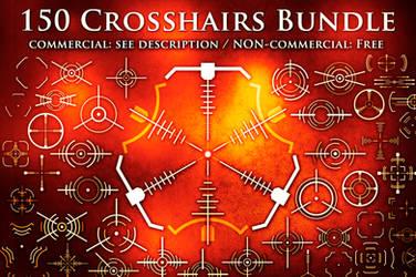 150 Crosshair Brushes