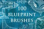 100 Blueprint Brushes