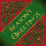 Seasons Greetings Knotwork
