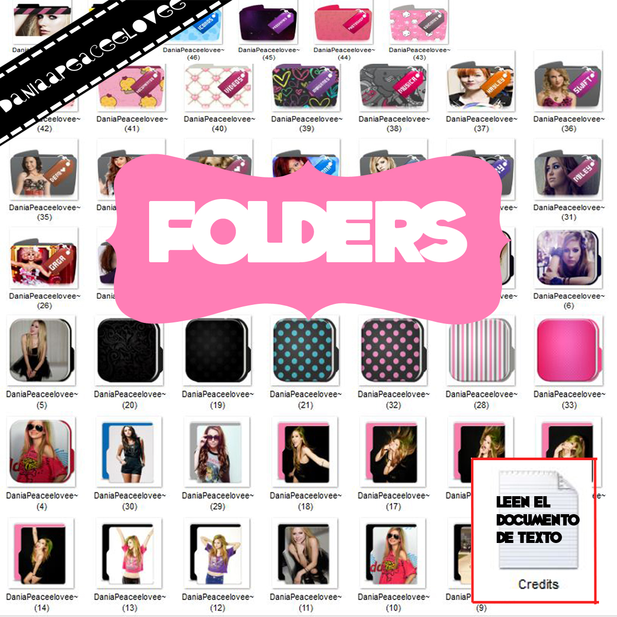 Icons Folders